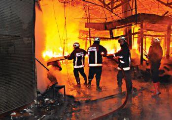 Ankara'da büyük yangın...