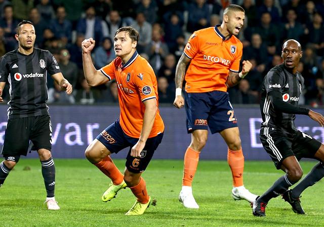 Başakşehir Beşiktaş'ı devirdi! 1-0