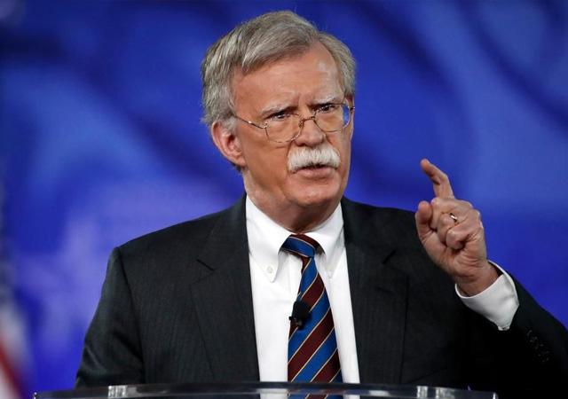 Bolton: İran'a yaptırımlarımız bunun da ötesinde…