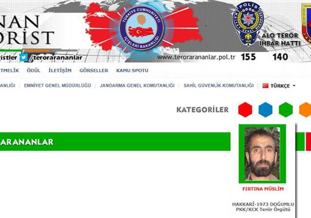Şırnak'ta yeşil kategorideki terörist öldürüldü…