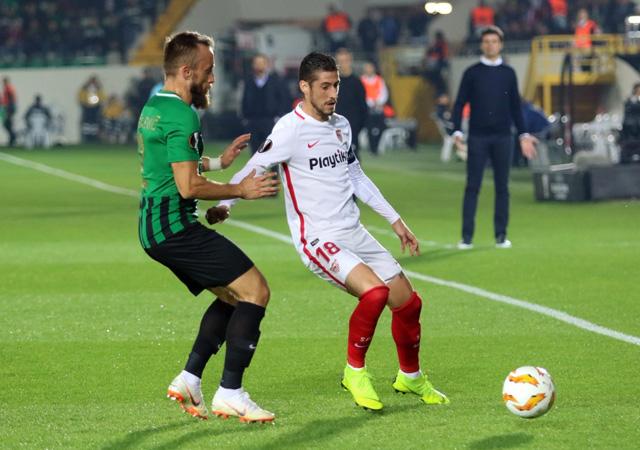 Akhisarspor Sevilla UEFA Avrupa Ligi maçı golleri ve geniş özeti