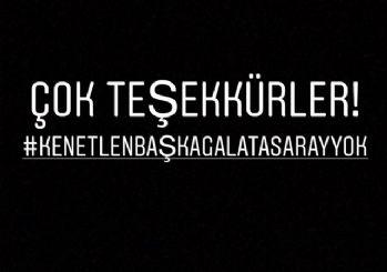 Galatasaraylı futbolculardan TFF'ye tepki