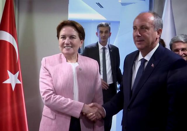 İYİ Parti Genel Başkanı Meral Akşener, Muharrem İnce'ye tepki gösterdi.
