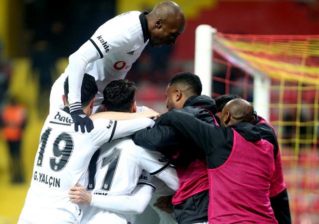 Beşiktaş Ankaragücü'ne patladı! 4-1