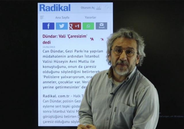 Gezi Parkı soruşturmasında Can Dündar'a yakalama kararı çıktı