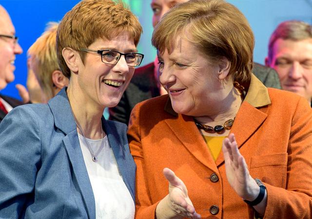 Merkel'in Türk karşıtı halefi…