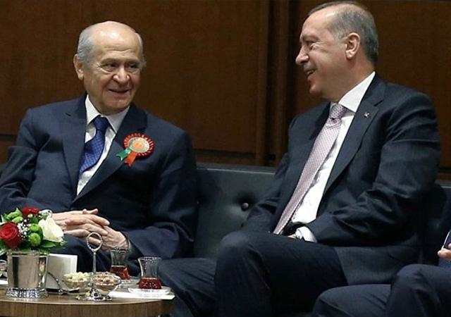 AK Parti MHP ittifakı netleşiyor!