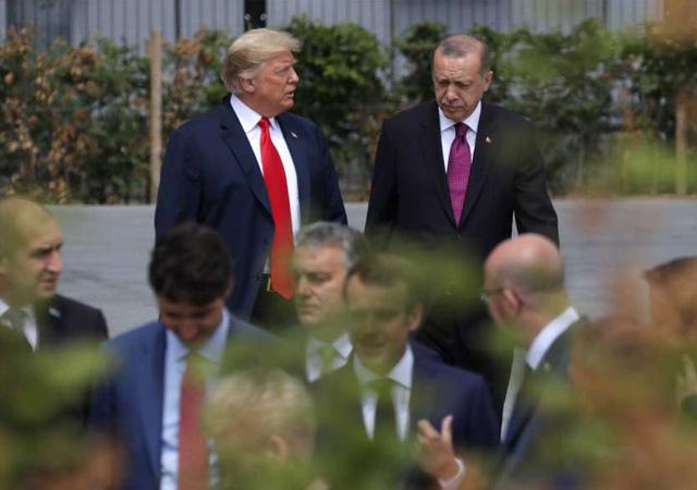 Erdoğan ve Trump arasında önemli görüşme!