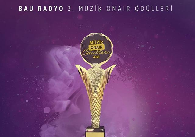MüzikOnair ödül töreni düzenlenecek