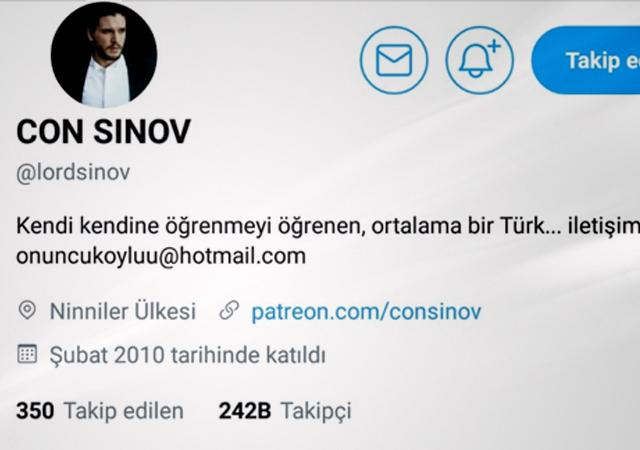 'Türkiye çok dikkatli olmalı' Con Sınov'la gündeme dair