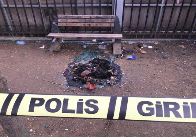 Şişli'de parkta tecavüz dehşeti! Elbiselerini ateşe vermişler