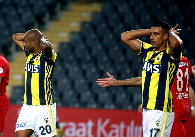 Ümraniyespor Fenerbahçe'yi eledi!