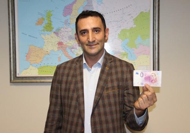 Avrupa Merkez Bankası'ndan, Atatürk'e özel euro!