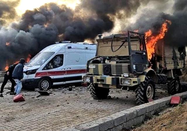 Mevlüt Çavuşoğlu: Saldırının arkasında PKK var!