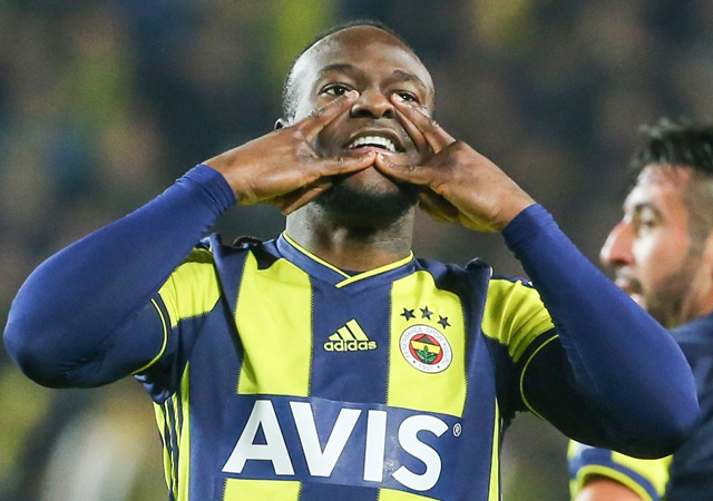 Victor Moses ilk golünü attı! Fenerbahçe-Göztepe: 2-0