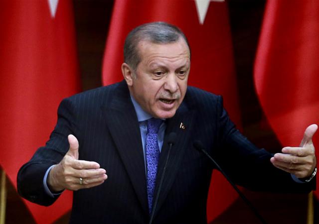 Erdoğan'dan Münbiç açıklaması: Teröristler çıkartılmazsa bekleme süremiz biter