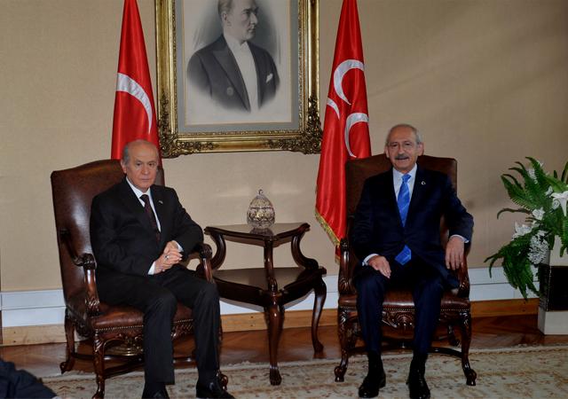 Bahçeli'den Kılıçdaroğlu'na: Perişanlığına üzülüyorum