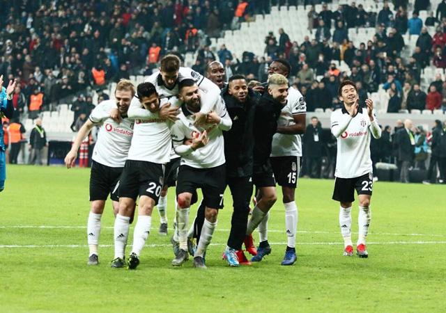 Beşiktaş Bursaspor'u mağlup etti!