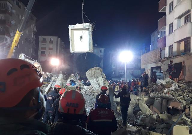Kartal'da çöken binada can kaybı 21 oldu!