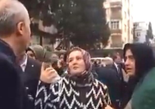 Kahramanmaraş'ta AKP'li adaylara vatandaştan tepki!