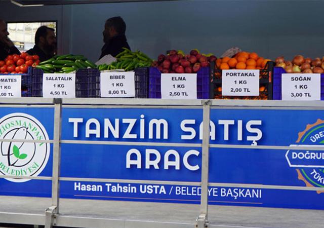 İstanbul Büyükşehir Belediyesi'nden sebze ve meyve kararı