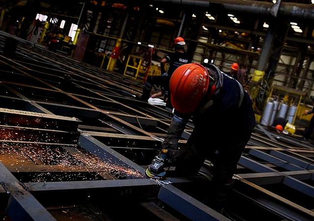 Sanayi üretimi rakamları açıklandı: Aralık 2018'de yüzde 1,4 azaldı