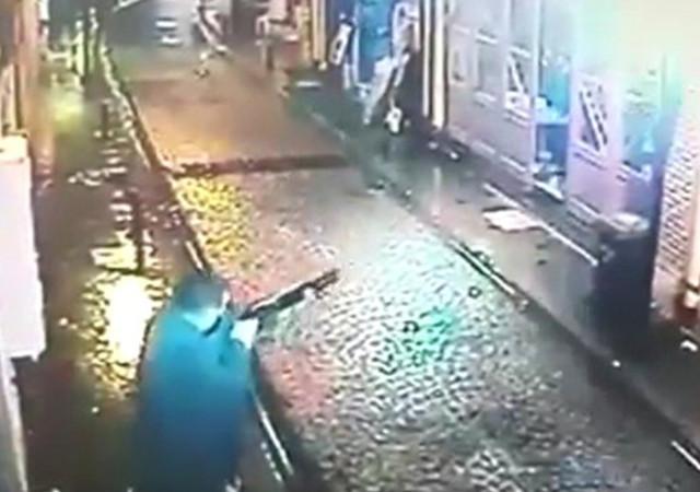 Çanakkale'de iş yerine pompalı tüfekli saldırı!