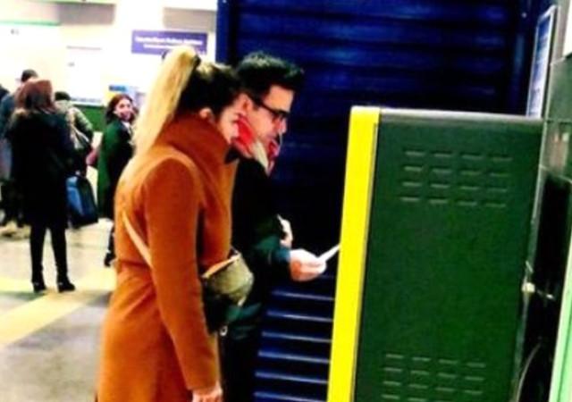 Emrah metroda görüntülendi!