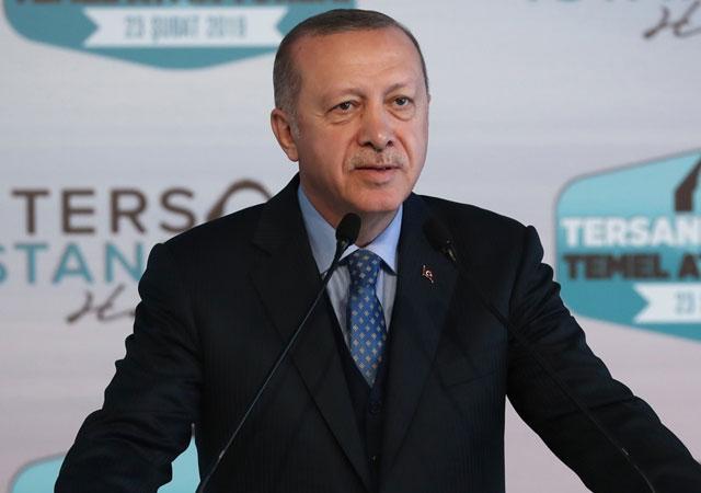 Cumhurbaşkanı Erdoğan: Haliç için kolları sıvadık!