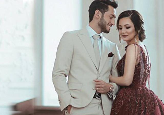 Hakan Çalhanoğlu'ndan eşine duygusal mesaj