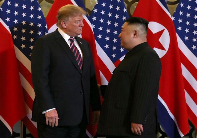 Vietnam'da tarihi zirve! Trump ve Kim buluştu