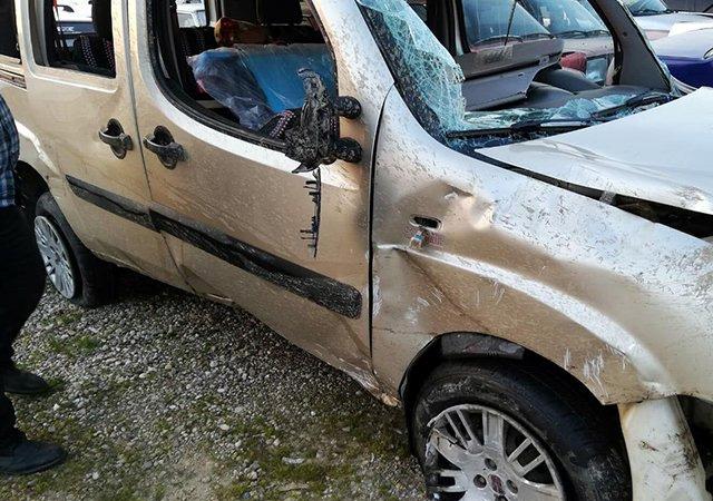 Aydın'da üzücü trafik kazası: 1 ölü, 4 yaralı