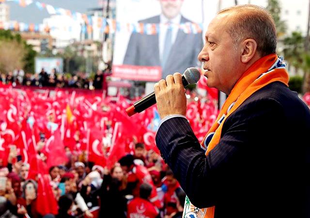 Erdoğan: Terör koridoruna fırsat vermeyeceğiz!