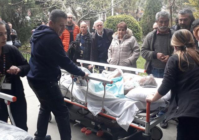 İzmir'de hastanede korkutan yangın!