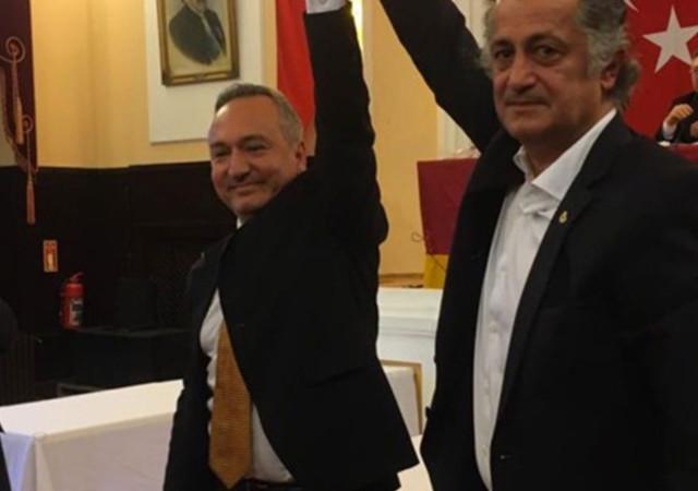 Galatasaray'da yeni dernek başkanı Fidel Berber