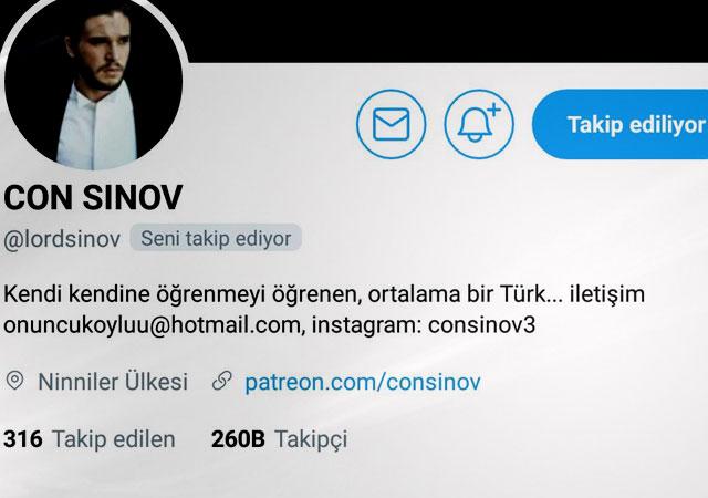 'AK Parti'nin açığını MHP kapatıyor' Con Sınov'la gündeme dair