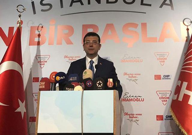 İmamoğlu: AA'da İstanbul'u kırmızıya boyadı!