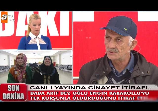 Müge Anlı'da cinayet itirafı: Oğlum Engin Karakollu'yu ben öldürdüm!