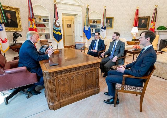 Albayrak-Trump görüşmesi: Yapıcı ve olumlu geçti!