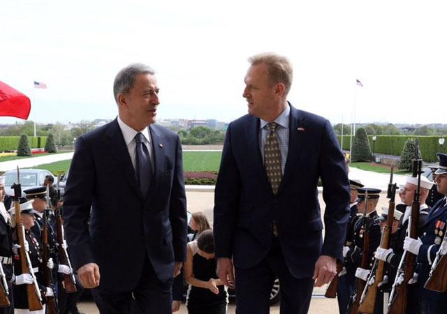 Bakan Akar ABD Savunma Bakanı ile görüştü