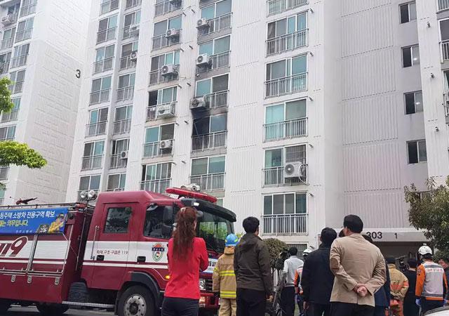 Güney Kore'de bir kişi önce yaktı sonra bıçakladı!
