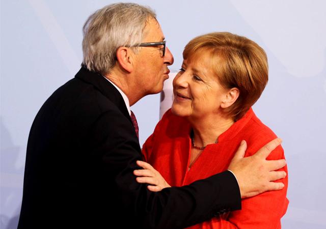 AB Başkanı Juncker: Merkel AB görevi için uygun!