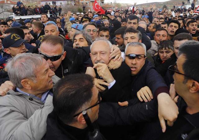 Kılıçdaroğlu: Olay sırasında sopalar dağıtılıyordu