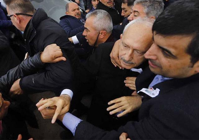 Kılıçdaroğlu kendisine saldıranlardan şikayetçi oldu!