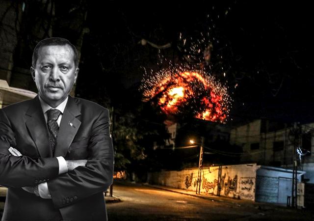 Türkiye'den Gazze'de AA ofisini vuran Katil İsrail'e sert tepki