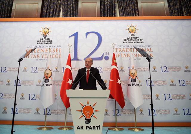 Erdoğan'dan ABD'ye: Yaptırım konuşulması kabul edilemez