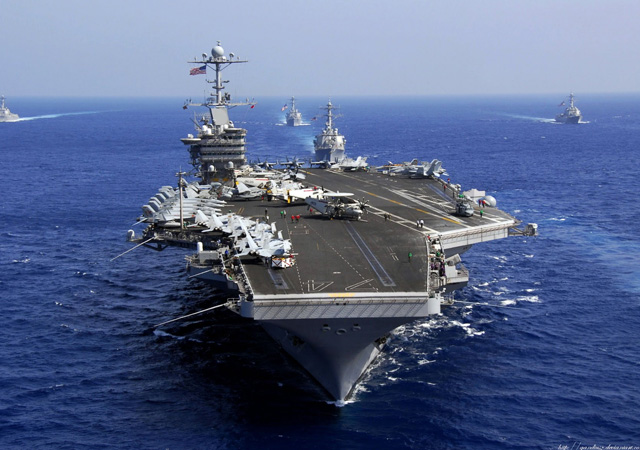 İran'dan ABD'ye savaş gemilerini vurma tehdidi