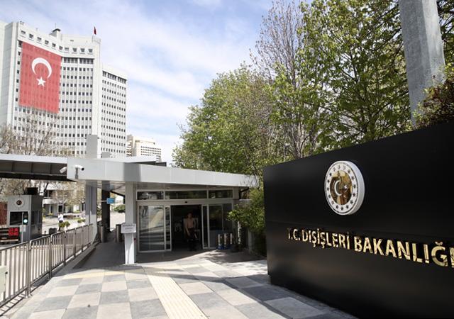 Dışişlerinden Kırgızistan'a tepki