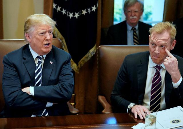 New York Times: 'Trump'tan İran için 120 bin asker istendi'