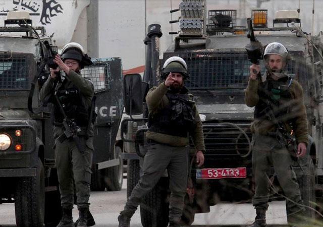 İsrail askerleri 30 Filistinliyi yaraladı
